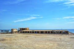 Beach side Al  uqair Saudi Arabia. Beach side Corniche in Al Uqair Saudi Arabia Royalty Free Stock Photography