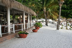 Beach Side Restaurant And Bar Royalty Free Stock Photo