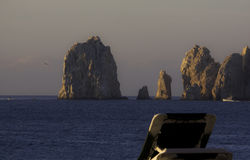 Beach side view of Land's End, Cabo San Lucas, Mexico Stock Photos