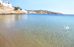 Beach at Sifnos island Cyclades Greece royalty free stock images