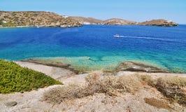 Beach at Sifnos island Greece royalty free stock photos
