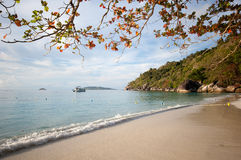 Beach at Similan island in the morning Royalty Free Stock Images