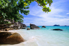 The beach at Similan island, Thailand Royalty Free Stock Images