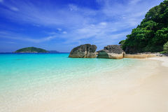 Beach at Similan island, Thailand Royalty Free Stock Image