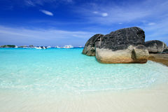 The beach at Similan island, Thailand Stock Photography