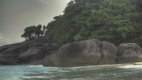 Beach of Similan Island stock video footage