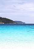 Beach in the Similan Islands Stock Photography