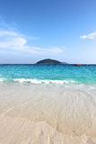 Beach in the Similan Islands Stock Photos