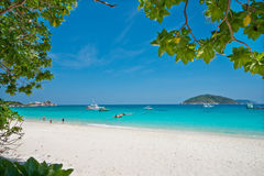 Beach, Similan Islands, South of Thailand Stock Images