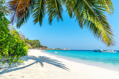 Beach of Similan Koh Miang Island in national park, Thai Royalty Free Stock Images