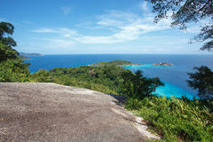 Beach of Similan Koh Miang island in national park Royalty Free Stock Photos