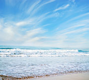 Beach sky Royalty Free Stock Photography