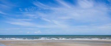Beach & sky Royalty Free Stock Photography
