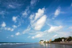 Beach and Sky in Ecuador Royalty Free Stock Image