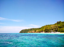 Beach sky and sea at island, thailand Stock Photography