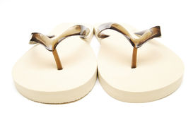 beach slippers Royalty Free Stock Image