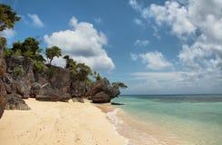 Beach in small Liukang island Stock Image