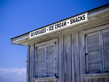 Beach Snack Bar Royalty Free Stock Image