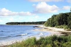Beach– Snogebaek, Denmark Royalty Free Stock Images