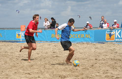 Beach Soccer Stock Image