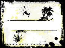 Beach soccer stock illustration