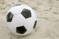 Beach soccer Royalty Free Stock Photo