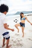 Beach soccer Brasil Royalty Free Stock Photos
