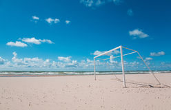 Beach Soccer/Football Stock Image