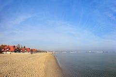 Beach in Sopot Stock Photo