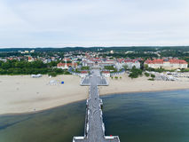 Beach of Sopot Royalty Free Stock Photography