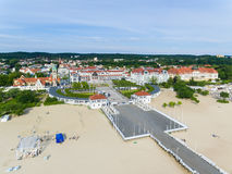 Beach of Sopot Royalty Free Stock Photo