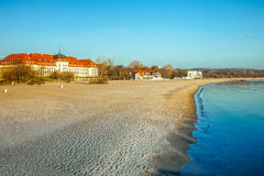 Beach in Sopot Stock Image