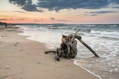Beach in Sopot Stock Image