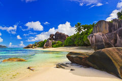 Free Beach Source D Argent At Seychelles Stock Photography - 14402972