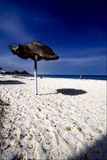 Beach in souss tunisia Royalty Free Stock Image