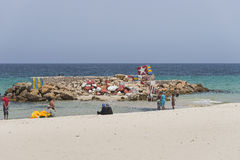 Beach in sousse Royalty Free Stock Images
