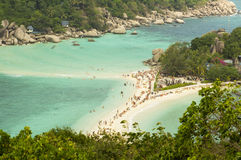 The beach. In the south asia Royalty Free Stock Photos