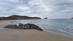 Beach. A beach at the south coast of crete Stock Photos
