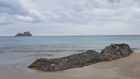 Beach. A beach at the south coast of crete Stock Image