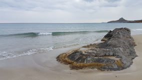 Beach. A beach at the south coast of crete Royalty Free Stock Photos