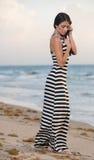 On a beach in south Florida Stock Photos