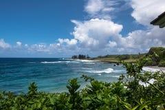 Beach South of Hana, Maui Stock Photos
