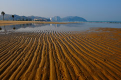 Beach south of Hua Hin Stock Photography