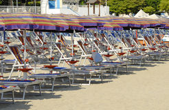 Beach  of soverato, italy Stock Photography