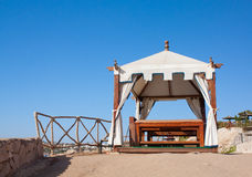 Beach SPA Stock Foto