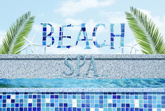 Beach Spa Stock Image