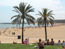 Beach in Spain Stock Photo