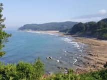 beach spain Royalty Free Stock Photos