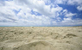 Beach in spain Stock Photo