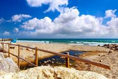 Beach in Spain. Stock Photos